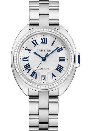 Cartier Watches - Cle de Cartier 35mm - White Gold - Style No: WJCL0044