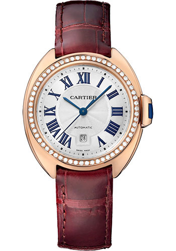 Cartier Watches - Cle de Cartier 31mm - Pink Gold - Style No: WJCL0047