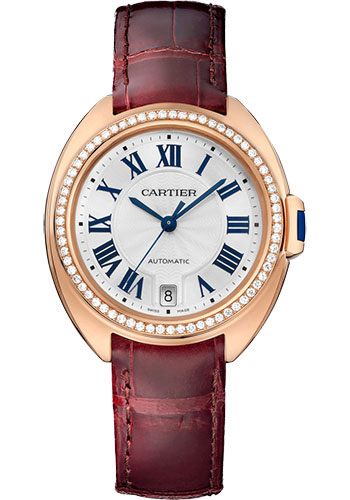 Cartier Watches - Cle de Cartier 35mm - Pink Gold - Style No: WJCL0048