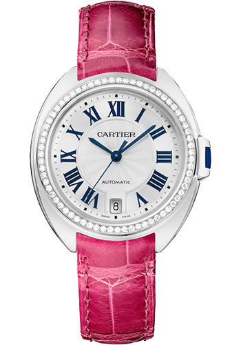 Cartier Watches - Cle de Cartier 35mm - White Gold - Style No: WJCL0049