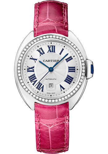 Cartier Watches - Cle de Cartier 31mm - White Gold - Style No: WJCL0050