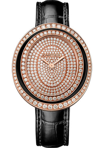 Cartier Watches - Hypnose Medium - Pink Gold - Style No: WJHY0007