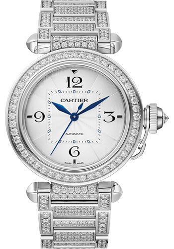 Cartier Watches - Pasha de Cartier 35 mm - White Gold - Style No: WJPA0014