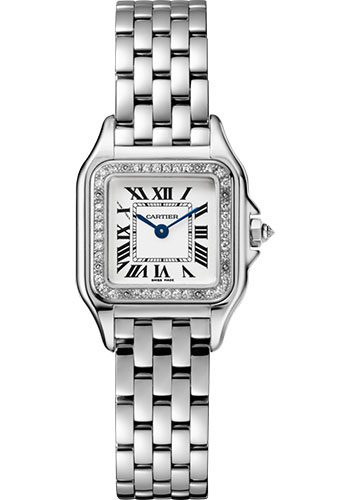 Cartier Watches - Panthere de Cartier Small - White Gold - Style No: WJPN0006