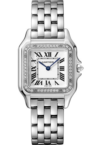 Cartier Watches - Panthere de Cartier Medium - White Gold - Style No: WJPN0007