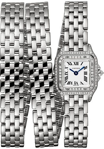 Cartier Watches - Panthere de Cartier Mini - White Gold - Style No: WJPN0011