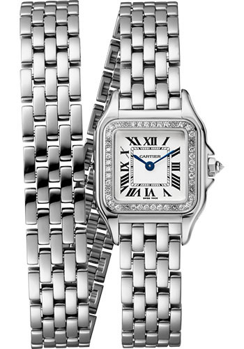 Cartier Watches - Panthere de Cartier Small - White Gold - Style No: WJPN0012