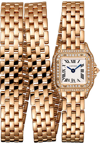 Cartier Watches - Panthere de Cartier Mini - Pink Gold - Style No: WJPN0013