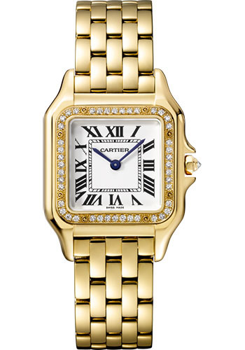 Cartier Watches - Panthere de Cartier Medium - Yellow Gold - Style No: WJPN0016