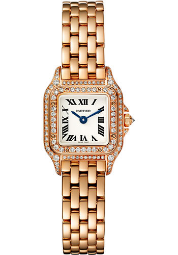 Cartier Watches - Panthere de Cartier Mini - Pink Gold - Style No: WJPN0020