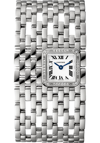 Cartier Watches - Panthere de Cartier Cuff - White Gold - Style No: WJPN0021