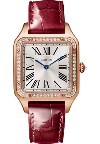 Cartier Watches - Santos Dumont Large - Pink Gold - Style No: WJSA0016