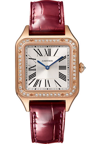 Cartier Watches - Santos Dumont Small - Pink Gold - Style No: WJSA0017