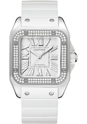 Cartier Watches - Santos 100 Medium - Style No: WM50460M