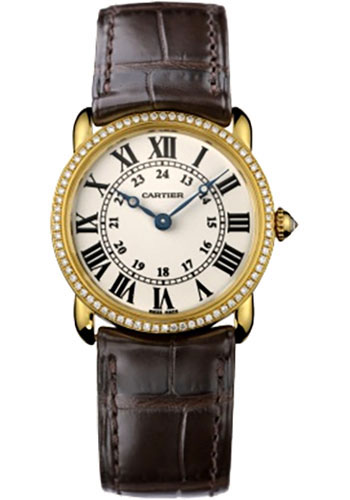 Cartier Watches - Ronde Louis Cartier 29mm - Yellow Gold - Style No: WR000151