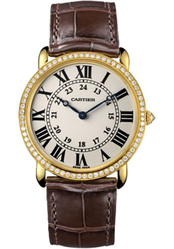 Cartier Watches - Ronde Louis Cartier 36mm - Yellow Gold - Style No: WR000451