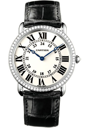Cartier Watches - Ronde Louis Cartier 36mm - White Gold - Style No: WR000551