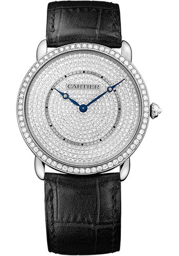 Cartier Watches - Ronde Louis Cartier 36mm - White Gold - Style No: WR007007