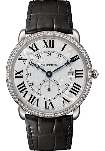 Cartier Watches - Ronde Louis Cartier 40mm - White Gold - Style No: WR007018