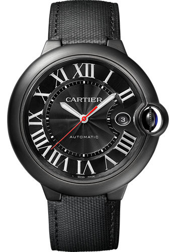 Cartier Watches - Ballon Bleu 42mm - Black Steel - Style No: WSBB0015