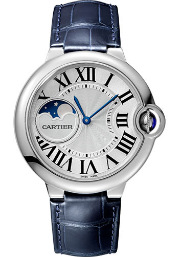Cartier Watches - Ballon Bleu 37mm - Stainless Steel - Style No: WSBB0020