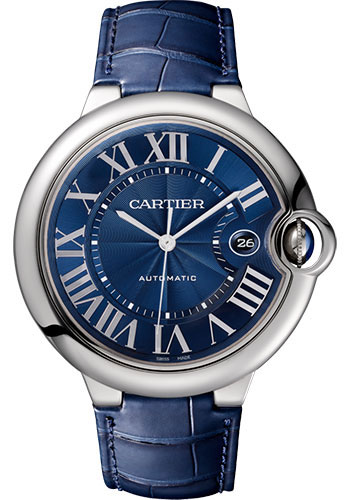 Cartier Watches - Ballon Bleu 42mm - Stainless Steel - Style No: WSBB0025