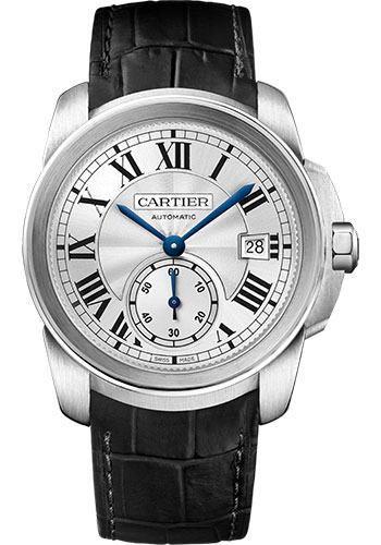 Cartier Watches - Calibre de Cartier 38mm - Automatic - Steel - Style No: WSCA0003