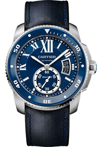 Cartier Watches - Calibre de Cartier Diver - Stainless Steel - Style No: WSCA0010