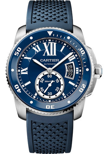Cartier Watches - Calibre de Cartier Diver - Stainless Steel - Style No: WSCA0011