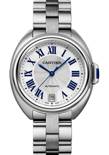 Cartier Watches - Cle de Cartier 35mm - Stainless Steel - Style No: WSCL0006