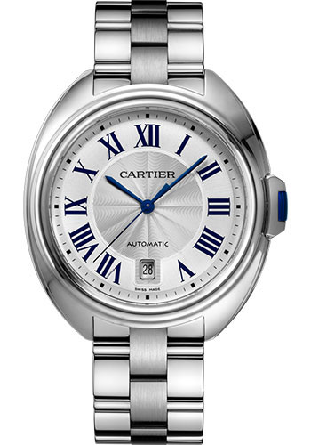 Cartier Watches - Cle de Cartier 40mm - Stainless Steel - Style No: WSCL0007