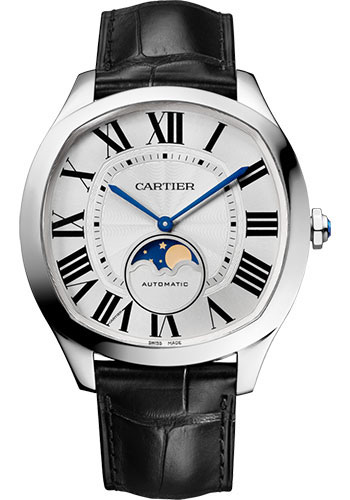 Cartier Watches - Drive de Cartier Moon Phases - Style No: WSNM0008