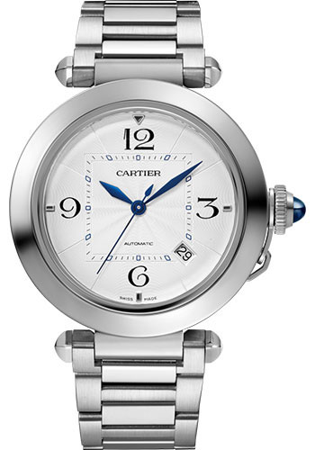 Cartier Watches - Pasha de Cartier 41 mm - Stainless Steel - Style No: WSPA0009