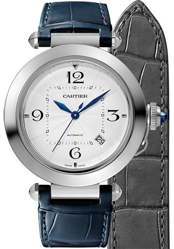 Cartier Watches - Pasha de Cartier 41 mm - Stainless Steel - Style No: WSPA0010