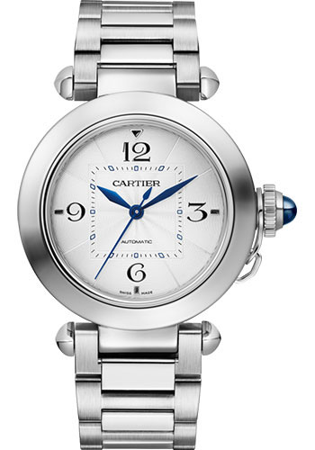 Cartier Watches - Pasha de Cartier 35 mm - Stainless Steel - Style No: WSPA0013