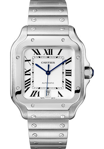 Cartier Watches - Santos de Cartier Large - Stainless Steel - Style No: WSSA0018