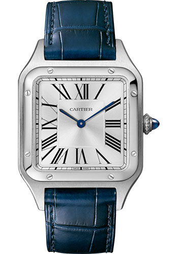 Cartier Watches - Santos Dumont Large - Stainless Steel - Style No: WSSA0022
