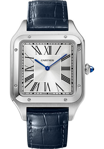 Cartier Watches - Santos Dumont Extra Large - Stainless Steel - Style No: WSSA0032