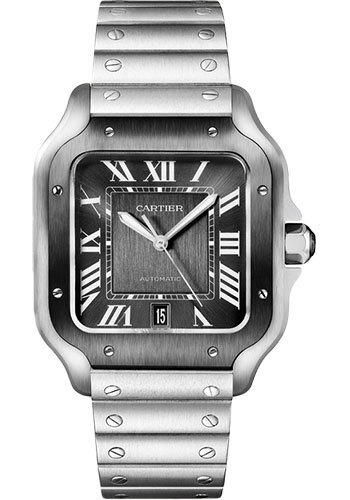 Cartier Watches - Santos de Cartier Large - Stainless Steel - Style No: WSSA0037