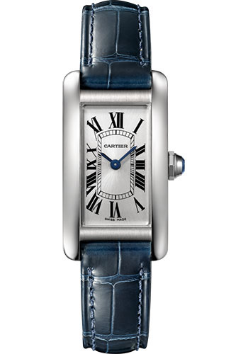 Cartier Watches - Tank Americaine Small - Stainless Steel - Style No: WSTA0016