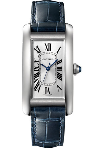 Cartier Watches - Tank Americaine Medium - Stainless Steel - Style No: WSTA0017