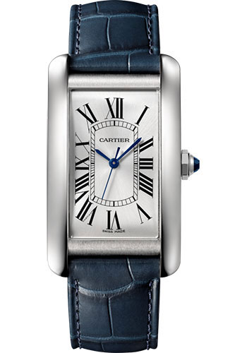 Cartier Watches - Tank Americaine Large - Stainless Steel - Style No: WSTA0018
