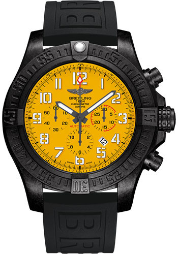 Breitling Watches - Avenger Hurricane 12H - 50mm - Diver Pro III Strap - Deployant - Style No: XB0170E41I1S1