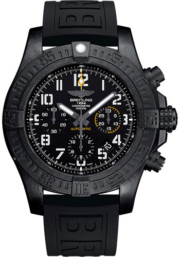 Breitling Watches - Avenger Hurricane 45mm - Diver Pro III Strap - Deployant - Style No: XB0180E4/BF31-diver-pro-iii-black-deployant