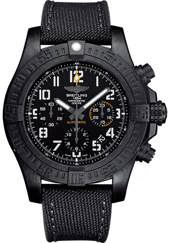 Breitling Watches - Avenger Hurricane 45mm - Military Strap - Style No: XB0180E4/BF31-military-anthracite-tang