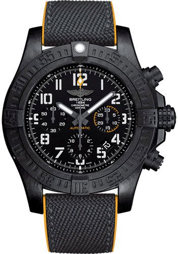 Breitling Watches - Avenger Hurricane 12H - 45mm - Military Rubber Strap - Style No: XB0180E41B1S1