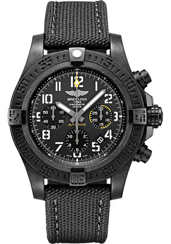 Breitling Watches - Avenger Hurricane 12H - 45mm - Military Strap - Style No: XB0180E41B1W1