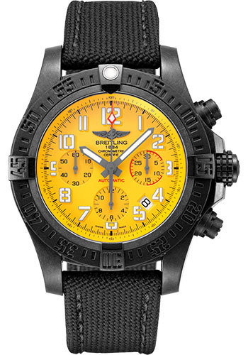 Breitling Watches - Avenger Hurricane 12H 12H - 45mm - Military Strap - Style No: XB0180E41I1W1