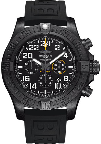Breitling Watches - Avenger Hurricane 50mm - Diver Pro III Strap - Deployant - Style No: XB1210E41B1S1