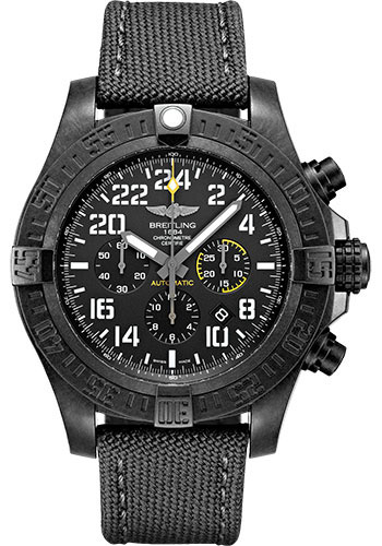 Breitling Watches - Avenger Hurricane 50mm - Military Strap - Style No: XB1210E41B1W1